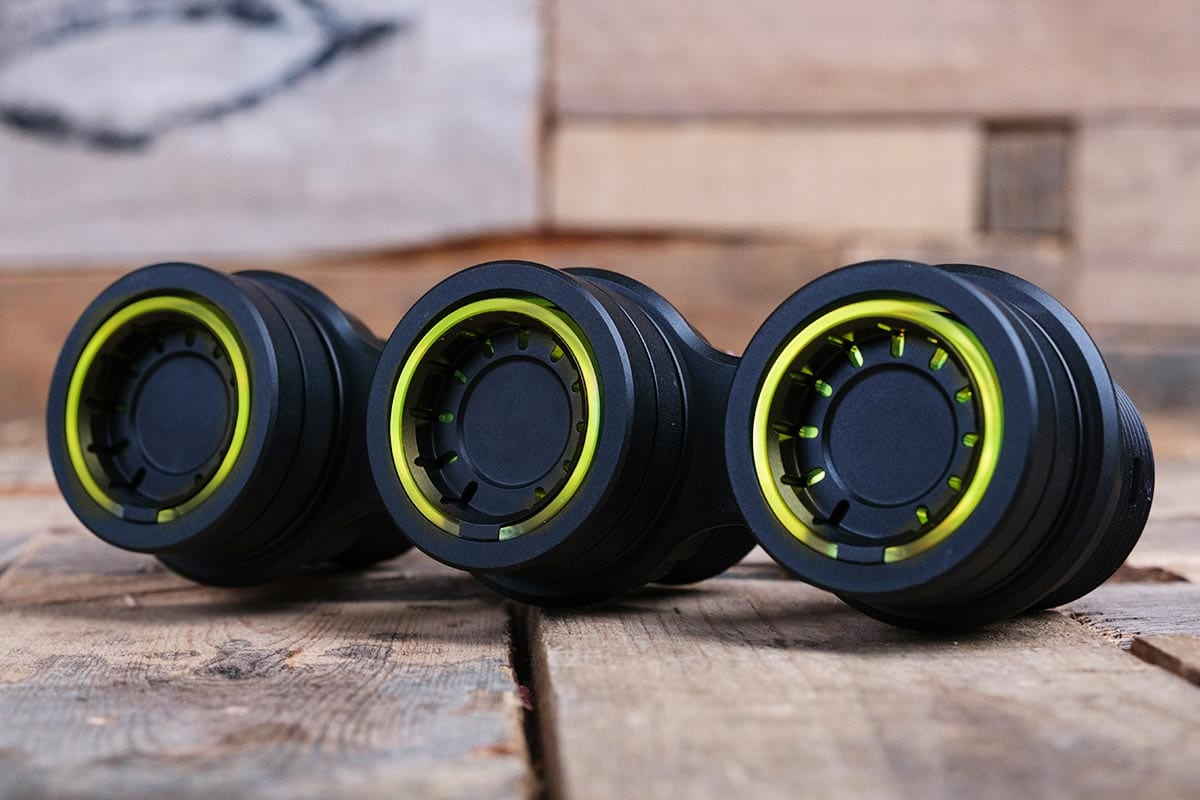 NUK PODS YELLOW LED SYNISTER BLACK LEFT RM 16 7016B Y