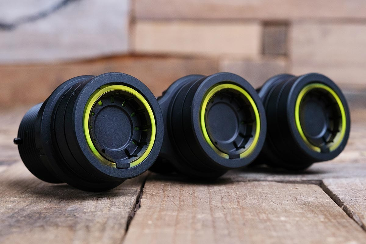 NUK PODS YELLOW LED SYNISTER BLACK RIGHT RM 16 7016B Y